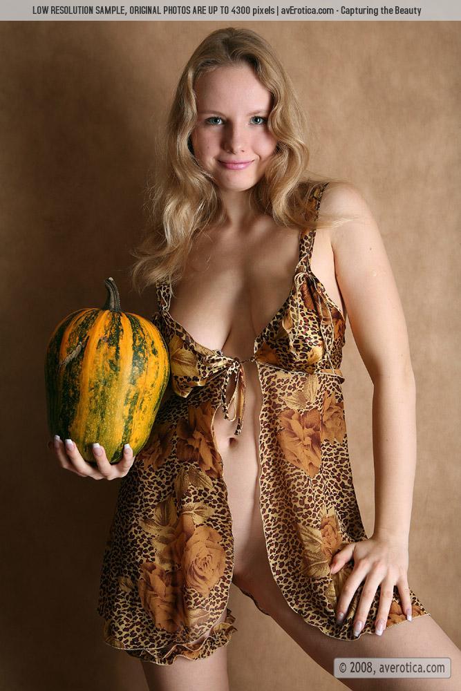 Katya asks if you like her pumpkins.