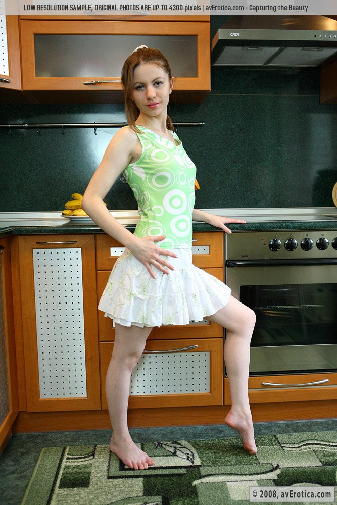 Sensual Tinka asks what would you like for dinner